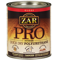 Полиуретановый лак на масляной основе ZAR PRO п/мат. 0,946л., в уп. 4 шт.