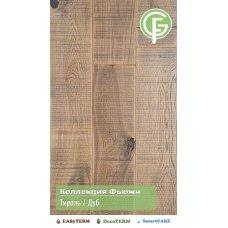 ИНЖЕНЕРНАЯ ДОСКА GREEN FOREST ДУБ ТИРОЛЬ Коллекция Фьюжин 16х135х500-2400 под UF лаком (12 слоев)