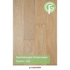 ИНЖЕНЕРНАЯ ДОСКА GREEN FOREST ДУБ СОМОНА Коллекция Классик16х135х500-2400 под UF лаком (12 слоев)