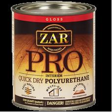 Полиуретановый лак на масляной основе ZAR PRO мат. 0,946л., в уп. 4 шт.